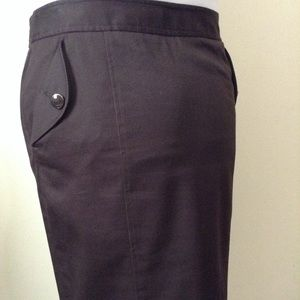 Apostrophe dark brown skirt